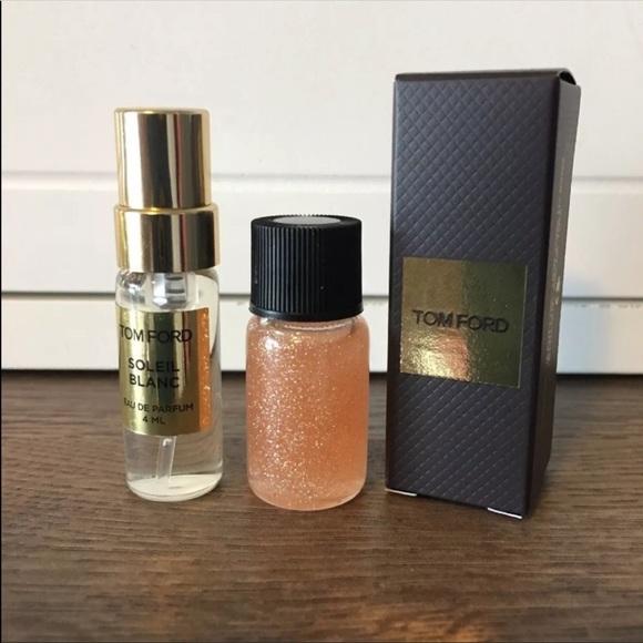 Tom Ford Makeup Soleil Blanc Rose Gold Body Oil Poshmark